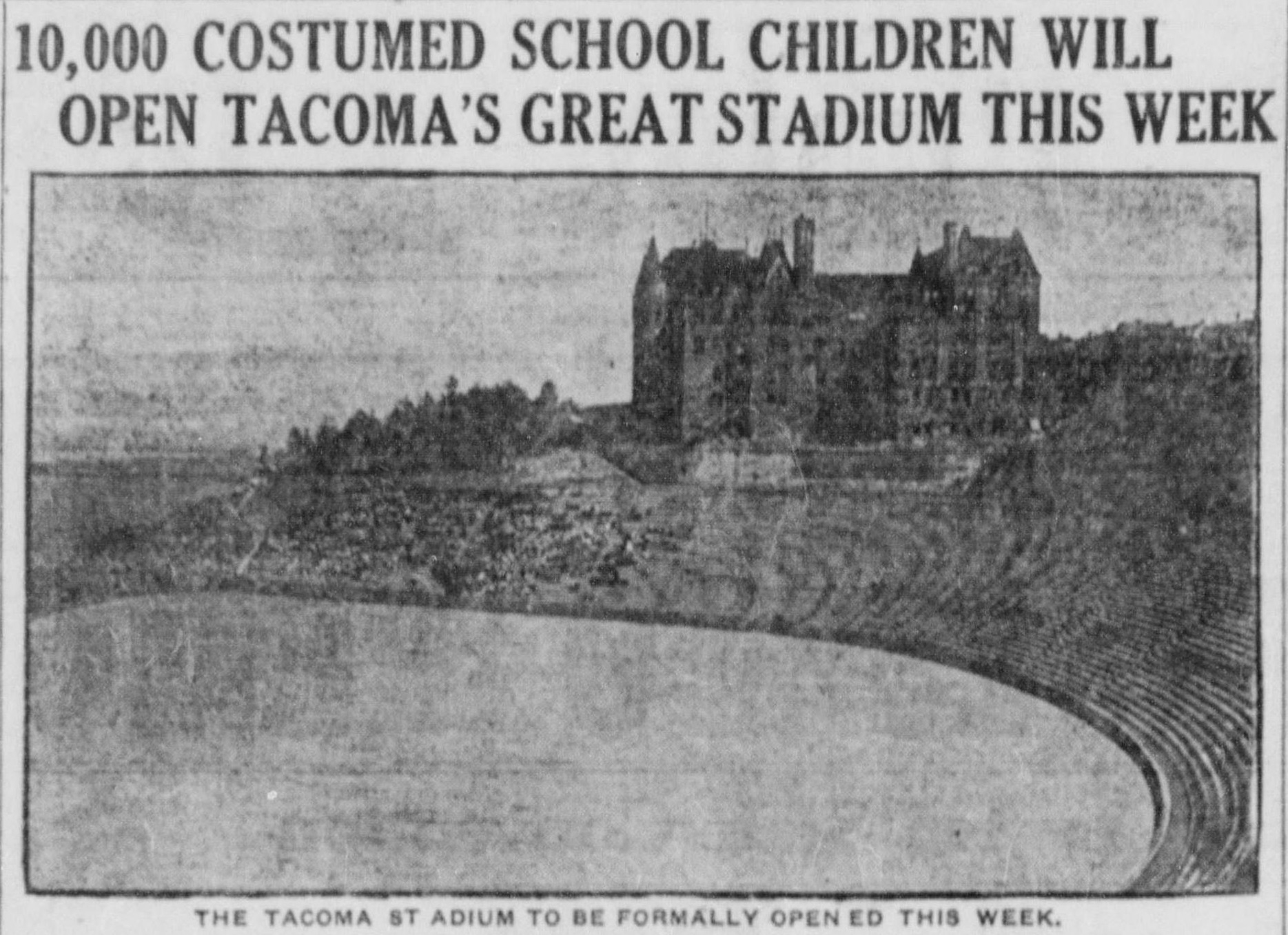 Stadium High School History Soars In Tacoma Southsoundtalk