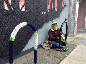 yarn bike racks tacoma