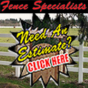 fence specialists logo