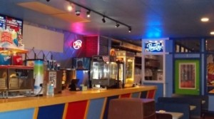 Enjoy a slice and soda at Skate Tiffany's with some friends while the kids roller skate or play at the arcade.