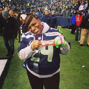 """Marshawn Lynch's mom, Delissa 'Momma Sunshine"""" Lynch, will be at Friday's Meet & Greet event. Photo Courtesy of Lucky Eagle Casino."""