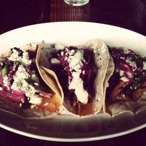 The Mayan pork tacos as Hilltop Kitchen will make your mouth water.