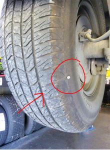 Courtesy Auto Service uses digital multi-point inspections to visually show customers where damage is on their vehicles.