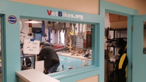 The VetBikes mechanic shop at Building 9 is an important piece of the non-profit organization.