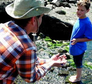 Cub Scout Pack 234 spent a summer day on a hike around DuPont's Sequalitchew Creek to observe sea life along Puget Sound's coast.
