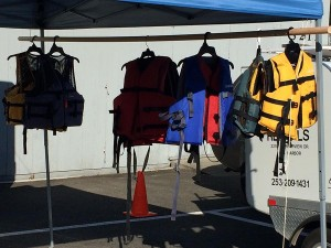 Lifejackets are an important piece of kayaking equipment that is required in most places. If you are borrowing a kayak, make sure to get the paddles and lifejackets as well.
