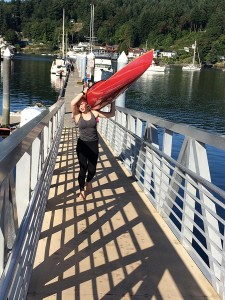 Whether a single or double kayak, most are lightweight and easy for one or two people to carry. Single kayaks average around 35 lbs., while dual vessels average around 55 lbs.