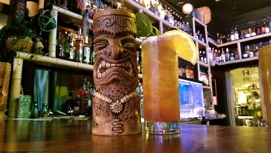 Experience Paradise Anytime At Tacoma S Tiki Themed Bar The Cabana