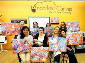 Creativity and wine are both on the menu at Uncorked Canvas.
