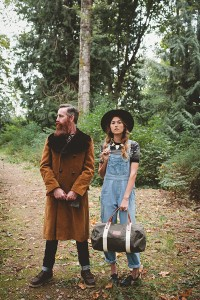 Business owners Nick and Brooke Casanova take vintage chic to the next level with this Fall fashion shoot. The duo also offers live shows from local bands, and invites guest bartenders to sling specialty cocktails for shoppers. Photo courtesy of Stacy Jacobsen.
