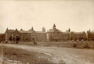 Western State Hospital has been a longstanding piece of Pierce County history. Photograph courtesy of the Washington State Historical Society.