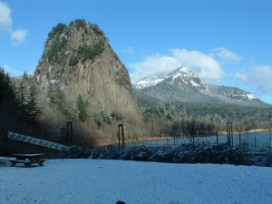Push yourself to summit the same cliff formation that Lewis and Clark camped at while en route to the Pacific at Beacon Rock.
