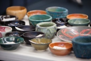Empty Bowls is an annual fundraiser that brings pottery and soup together for a good cause.