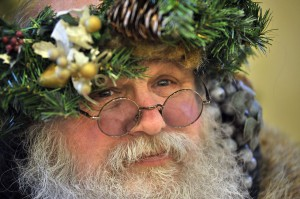 Father Christmas will be in attendance at Fort Nisqually's 19th Century Christmas on Saturday, Dec. 6. Photo by Russ Carmack.
