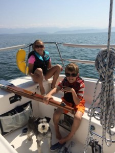 An avid sailor, Dr. DuMontier is excited to set sail on the South Puget Sound.