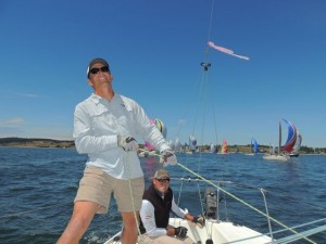 Dr. DuMontier enjoys a variety of activities from sailing, running, yoga and more.