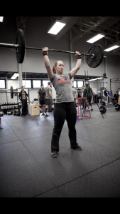 Nicole enjoys teaching women Olympic weightlifting techniques.