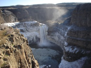 Visit Washington state's official waterfall at Palouse Falls State Park for spectacular views like this one.