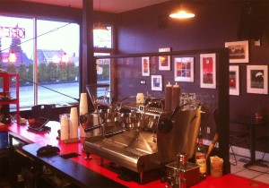 Grab a cup of Tacoma roasted and brewed coffee at Valhalla Coffee on 6th Avenue.