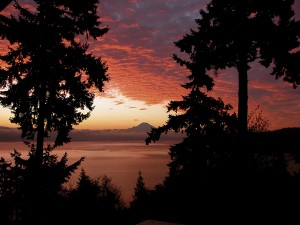 """Take in the splendor of the South Sound this winter, or any time of year, with a local """"staycation."""" Photo credit: Judith Lawrence."""