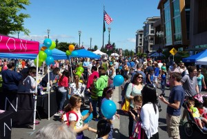 Members of the University Place community and surrounding area gather each year in celebration of spring during the Duck Daze Festival.
