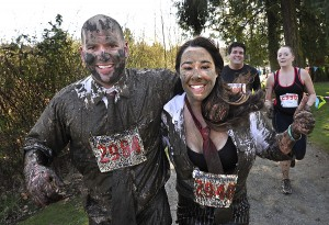 Last year's Mud Run at Titlow made for some great post-run pics.