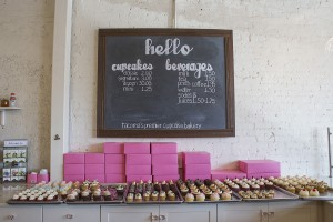 Treat yourself to a single cupcake or please a crowd with a box of one dozen at Hello, Cupcake.
