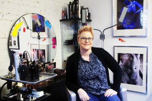 Jennifer Jensen offers hair, makeup, body painting services and more at Tacoma's Alter Ego Beauty Bar.