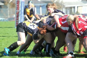 After a minor infraction occurs, the scrum is used to restart play.