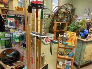 Lakewold Gardens' garden shops is brimming with tools and supplies to get your garden growing. Photo courtesy of Lakewold Gardens.