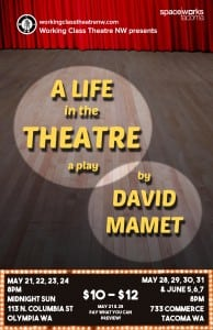 Working Class Theatre NW presents David Mamet's A Life in the Theatre  @ The Midnight Sun  | Olympia | Washington | United States
