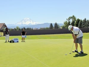 Putting open in sumner golf us open