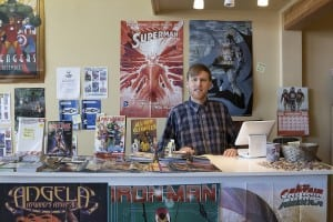 Destiny City Comics is open  Wednesday – Saturday, noon – 8:00 p.m. and Sunday and Tuesday noon – 6:00 p.m. (Closed Mondays.)