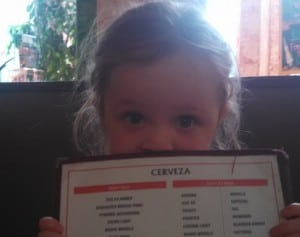 Kids and The Mayan Mexican Restaurant go together like rice and beans.