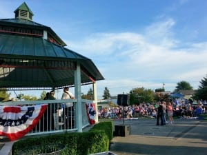 Heritage Park, the site of Music Off Main, was actually built to replicate the dance pavilion that was in roughly that same spot at the turn of the last century. Having the gazebo as a hub has indeed brought back downtown performances/dancing.