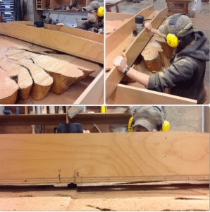 In her time with Madera, Ali has learned a variety of woodworking techniques.