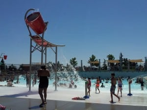 Kandle pool is the newest outdoor pool in Tacoma, offering the first wave pool in Pierce County, making it only one of the few existing in all of Washington.  Photo credit: Sonia Garza.