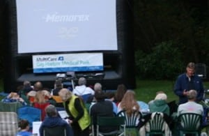 Date Nights and Family Movie nights in Gig Harbor will run through the summer.