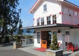 If you decide to extend your stay, there are plenty of places in Anacortes to crash for the night. The Ship Harbor Inn is a charming bed and breakfast located near the water's edge.