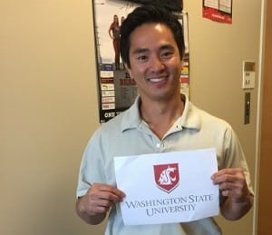 Dr. Leyen Vu helped launch the Oly Ortho Sports Medicine Clinic more than three years ago. He now has a new role as a team physician at Washington State University.