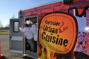 Bates Technical College's Curbside Urban Cuisine food truck teaches mobile-minded entrepreneurs how to operate their own food trucks.