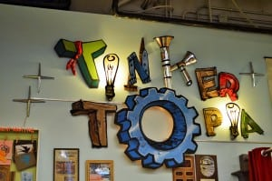 "Tacoma recognized Tinkertopia with the Schoenfeld Award in 2014 for the space's ""exemplary performance and pizazz as a retailer."" Photo credit: Mariah Beckman."