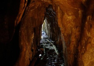 The former mine shafts and caverns seem as if the miners simply walked away with full expectations they would return the following day. But they didn't. Photo courtesy of Ghost Towns of Washington.