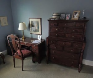 The nursery where Crosby spent his youngest years has since been converted into an office.