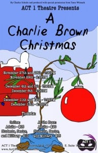 A Charlie Brown Christmas @ ACT 1 Theatre Productions | Sumner | Washington | United States