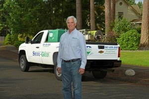 As the owner of three Spring Green franchises across the South Sound, Mike Bell knows lawns.