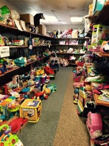 The Public Works Department estimates that Tacoma's Toy Rescue Mission has refurbished more than 240 tons of toys since 1995, diverting waste from landfills, reducing air emissions and water waterborne wastes. Photo courtesy: Tacoma Toy Rescue Mission.