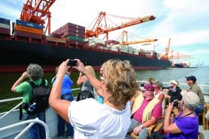 The Port of Tacoma gives tours of the working waterfront. Photo courtesy: Port of Tacoma.