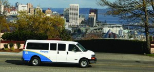 Pierce Transit's Vanpool is a great way to make your daily commute. Photo courtesy: Pierce Transit.