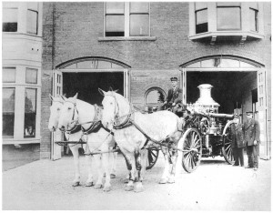 Before it was a bar, Engine House No. 9 operated at a working firehouse, until the mid-1960s.